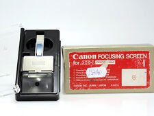 CANON FOCUSING SCREEN AE-1 PROGRAM  TIPO I/A/L -NUOVI/NEW