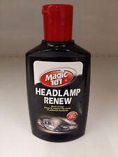 HEADLIGHT CLEANER AND INSTANT RESTORATION CLARITY OF YELLOWISH HEADLAMP