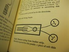 """vintage 1962 book: """"Mathematical Puzzles + Other Brain Twisters� ~ very nice!"""