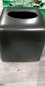 Brown Ceramic Tissue box cover