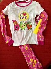 I Love Shopkins Pajamas Set Pajamas Two Piece NEW Size 8