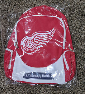 NEW NHL Detroit Red Wings NHL Backpack 10/27 game giveaway FREE SHIPPING