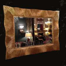 Wall Mirror 125 x 95 Baroque Dandasia in Gold Altgetrimmt Antique Mirror