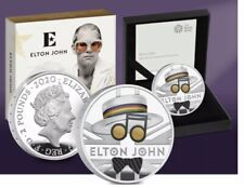 Elton John 2020 UK One Ounce Silver Proof CoinLimited Edition (Pre - Order)