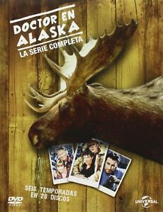 DOCTOR EN ALASKA SERIE COMPLETA DVD TEMPORADAS 1-6 NUEVO PRECINTADO ED. ESPAÑA