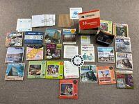 Viewmaster Reels Lot Slides Packets Ephemera Tourist Vacation View-Master VTG
