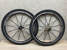 """Vuelta Crosser Airline 1 26"""" MTB Bike Wheelset w/ Cassette and Tires"""