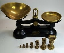 Vintage Cash Boots Chemist Set Of Weighing Scales With Weights Included #444