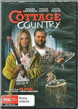 Cottage Country (DVD, 2014)Brand New & Still Sealed Region 4 Free Post