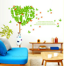 Butterfly Love Wall Sticker Removable Kids Nursery Room Decal Home Decor