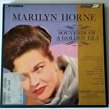 "MARILYN HORNE 7 1/2 ips REEL 7"" REEL 4 TRACK TAPE HENRY LEWIS LONDON FFRR RECORD"