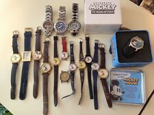 MICKEY/MINNIE MOUSE WATCH LOT TO WEAR OR REPAIR