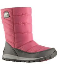 SOREL WHITNEY MID US 7 EU 39 Woman's Winter Boot Waterproof- Pink and Grey NWOT