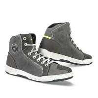 Schuhe Sneakers Motorrad STYLMARTIN Sunset Evo Grau Anthrazit Stoff