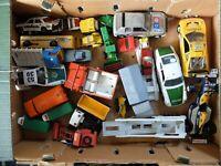 Vintage Diecast Matchbox, Polistil, Corgi BBurago Triang Job lot Bulk Buy