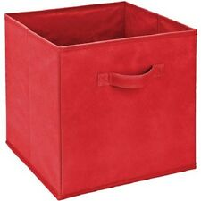 New Simplify Storage Bin, Red #25920 (Lot of 6) - Free Shipping
