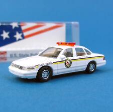 Busch H0 49079 FORD CROWN VICTORIA US State Police 33 NORTH DAKOTA HO 1:87 box