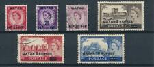 [37427] Qatar 1957/59 Good lot Very Fine used stamps