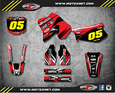 Full  Custom Graphic  Kit - DIGGER STYLE - HONDA CR 125 - 1995 1997 stickers