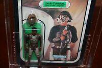1983 Kenner STAR WARS ROTJ Lando Calrissian Skiff Guard AFA 80 Return Jedi
