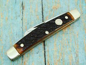 VINTAGE BOKER USA 63/84 TREE BRAND FOLDING CONGRESS POCKET KNIFE KNIVES TOOLS