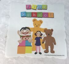 Set of 6 Play School Plastic Placemats