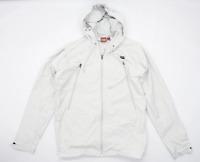 Onitsuka Mens Size L Grey Lightweight Jacket