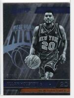 2015-16 Allan Houston #/999 Panini Absolute Retired NY Knicks Basketball Card
