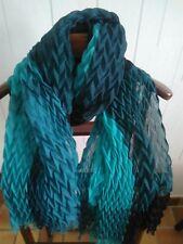 Écharpes et châles foulard bleu avec des motifs Unis pour femme   eBay 71b3aa564ae