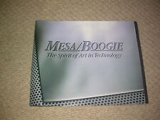 MESA BOOGIE Amplis 1995 Catalogue guitare collector personnalisé Studio Man Room Display