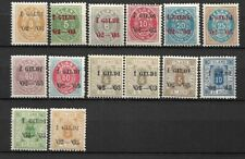 Iceland lot overwritten mnh and mlh