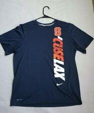 Syracuse Orange Lacrosse Dri-Fit Shirt Medium / Large Nike Ncaa S/Cuse Lax