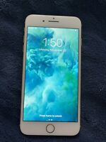 iPhone 8 Plus 256GB Unlocked A1864, Rose Gold, Cracked Back, WORKS GREAT