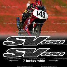 sv650 sv 650 sticker decal for suzuki motorcycles
