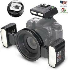 Alpha Interface Sony Alpha DSLR-A55 Dual Macro LED Ring Light//Flash
