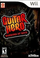Guitar Hero: Warriors of Rock (Nintendo Wii, 2010) NEW
