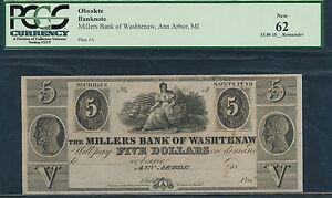 Ann Arbor, MI- Millers Bank of Washtenaw $5.1837-1839.
