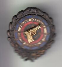 RARE PINS PIN'S .. POLICE NATIONALE FRANCE CENTRE NATIONAL TIR ARME GUN 3D ~C9