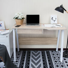 Modern Computer Desk With Drawer Home Office Study Laptop Desk PC Writing Table