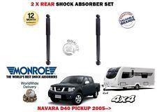 für Nissan Navara D40 2.5TD Pickup 2005- > 2x Hinten Abschleppen Stoßdämpfer Set
