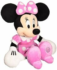 """New Disney 8"""" Minnie Mouse in Pink Dress Plush"""