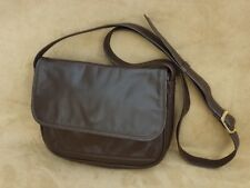 Suzy Smith Brown Leather Small Shoulder/Cross Body Bag