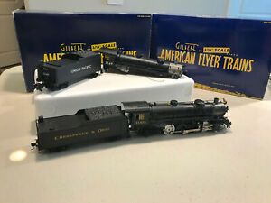 American Flyer Mikado 2-8-2 S Gauge Scale conversion project FOR PARTS and extra