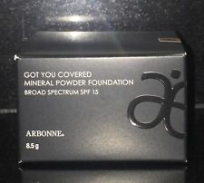 "Got You Covered Mineral Powder Foundation SPF 15 Sunscreen, ""choose 2 colours"""