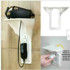 Wall Outlet Shelf Holder Charging Socket Storage Power Phone Perch Rack Hom R8I4