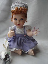 Lucille Ball I LOVE LUCY Franklin Mint GRAPE STOMPING ITALIAN MOVIE Baby Doll