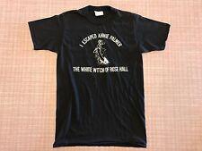 Vtg 1980s I Escaped Annie Palmer T-Shirt Medium White Witch Rose Hall Jamaica