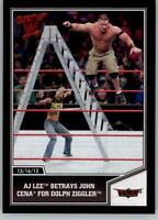 2013 Topps Best of wwe de catch Cox #54 Vickie Guerrero//AJ Lee