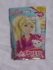 2012 Barbie Puzzle On The Go By Cardinal Ind., 48 Pieces, New in Sealed Package