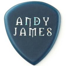 Dunlop Flow Andy James Signature Electric Guitar Picks, Blue, 2.0mm, 12-Pack